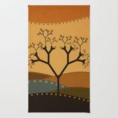 Textures/Abstract 142 Area & Throw Rug by ViviGonzalezArt - $28.00