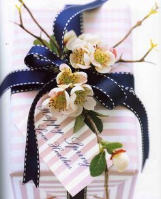 Happy Spring .. Wrapping