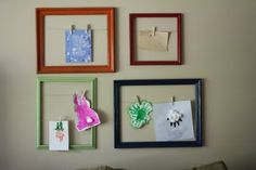 Love it for the Laundry room to hold all those beautiful works of art!