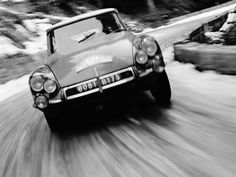Citroen DS . Rally de Monte-Carlo 1963.
