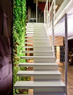 Feast your eyes on these staircases designs! We give you 20 very unique staircases that we have found to be most intriguing and original. Are you bold enough to adopt one of these styles?