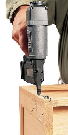 How to Master Your Brad Nailer Popular Woodworking Magazine is part of Woodworking magazine - Make your brad nailer safer and easier to use with these tips From avoiding the blowout curse to making your nailer last longer, it's surprisingly simple to… Woodworking Furniture, Woodworking Crafts, Woodworking Projects, Teds Woodworking, Woodworking Equipment, Woodworking Jigsaw, Diy Furniture, Wood Projects, Woodworking Essentials