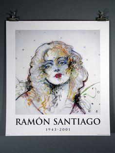 "Ramon Santiago ""Neon Angel"" Fine Art Print Rochester NY"