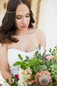 New Mexico indie glam wedding     The Frosted Petticoat