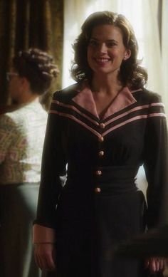 Hayley Atwell in 'Agent Carter' (2014).