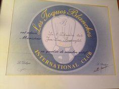 Consultant restauration - Jean-Luc Buscaylet membre des Toques Blanches International Club