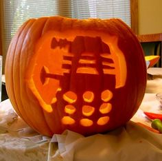 dr who pumpkin carving - Google Search