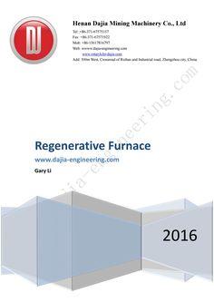 Regenerative furnace(High Temperature Air Combustion Technology (HTAC))