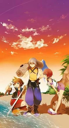 Sora, Riku, & Kairi