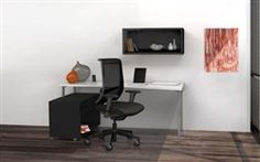Mayline e5 Series Modern Computer Furniture Set - $810.99 #ModernOffice #ComputerDesks