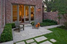 French Country Modern - Modern - Landscape - Houston - Exterior Worlds Landscaping & Design