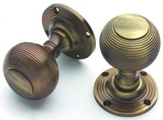 wooden beehive door knobs rosewood antique rose plate pai https