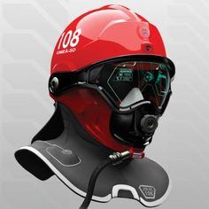 Amazing Helmet Concept For Firefighters #productdesign