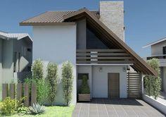 Explore 30 Modelos de Frentes de Casas para inspiração quando você for construir ou reformar sua casa, seguindo suas necessidades e estilos próprios.