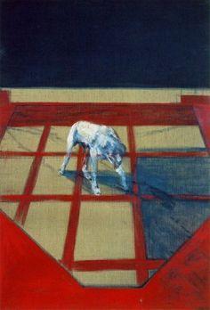 """Dog"" Francis Bacon Art Experience NYC www.artexperiencenyc.com/social_login/?utm_source=pinterest_medium=pins_content=pinterest_pins_campaign=pinterest_initial"