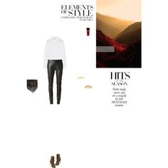 Bez tytułu #85 by izabelmaz on Polyvore featuring moda, Maison Margiela, Yves Saint Laurent, Giuseppe Zanotti, Tiffany & Co., Elsa Peretti and Vera Wang