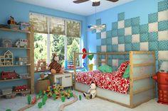 dappi - Galeria - panele tapicerowane, dekoracyjne, ścienne Bed Headboard Design, Bedroom Bed Design, Headboards For Beds, 3d Kitchen Design, 3d Wall Panels, Design System, Loft Design, Valance Curtains, Toddler Bed