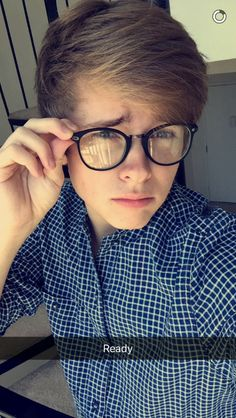 "Luke Korns] ""Hey I'm Louis, I'm 19 and single. Luke is my twin. Jessie and Marie are my sisters. Don't hurt them. I'm a big flirt at times and I love reading. Intro?"""