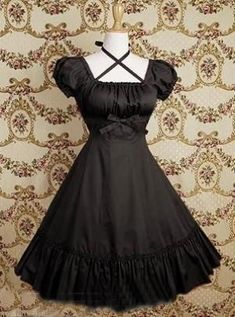 fashion elegant clothes clothing pretty beautiful cute goth gothic lolita dress