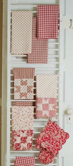 Table cloth & other dining linen storage - could easily be in closet or pantry nearby