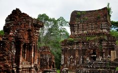 My Son Sanctuary, Vietnam was once the capital of the Champa Kingdom. The tower temples are a monument to the Hindu deities. #Vietnam #Asia #Asiantravel #Travel #SoutheastAsia #Vietnamese #Hindugod