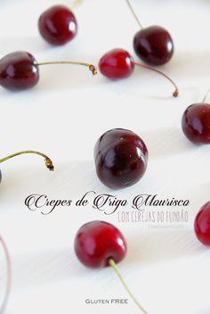 Crepes de Trigo Mourisco com Cerejas do Fundão | Gluten Free