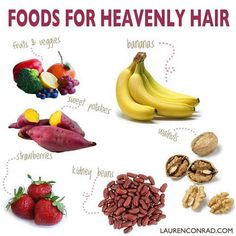 Natural Foods For Hair Care