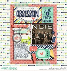 **NEW** Favorites by Digital Scrapbook Ingredients AVAILABLE 1/30 at Sweet Shoppe Designs  EZ Albums 5 by Erica Zane