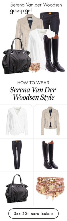 """""""Serena Van der Woodsen"""" by sharedpieceofcake on Polyvore featuring Balenciaga, By Malene Birger, Gucci and Accessorize"""