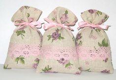Romantic lavender sachets