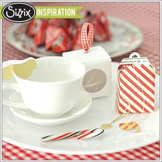 Sizzix Inspiration   Christmas Tea Party by Genevive Rulona
