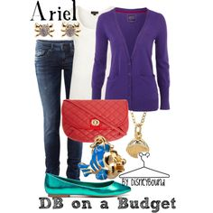 Ariel, created by lalakay on Polyvore-<3