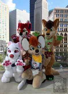 Furries! all suits made by AutumnFallings