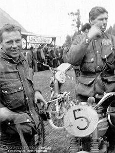 Vintage Penton Motorcycle Founder. John Penton.