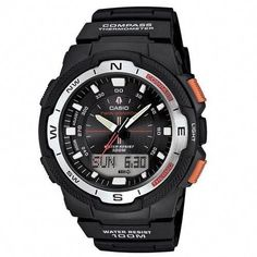 da1b129795d8 Casio Resin case Collection  Sport Gear Gender  Men Dial  Black Digital -Analog