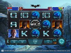 Prova la versione demo di Batman Begins e affronta la Lega del Male. Batman Begins, Shadows, Dc Comics, Entertaining, Character, Darkness, Lettering
