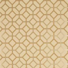 Mulberry Wallpaper FG061.T42 Octavio Stone/Old Gold