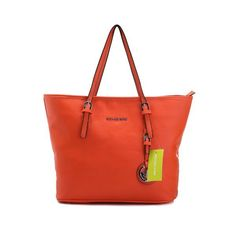 8d83c970df19 Michael Kors Jet Set Macbook Travel Large Orange Tote Cheap Michael Kors  Outlet Handbags Are On Hot Sale Online Now-Jet Set