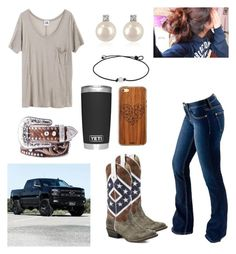 """Southern Sweet Tea"" by babyinblue on Polyvore featuring Bullet, Mlle Mademoiselle, Toast, Nocona and Forzieri"