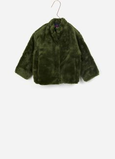 Harige groene jas van The Animals Observatory.