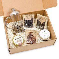 Купить подарочный набор «Чай и френч-пресс» с доставкой по Екатеринбургу - интернет-магазин «Funburg.ru»