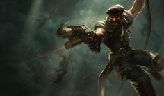 Special Forces Gangplank Skin