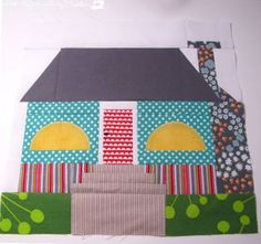 Sunni at Love Affair With My Brother shows how to make this quilt block she calls Acid Cottage. She explains it's a bonus block for the Home Sweet Home QAL hosted by Kim's Crafty Apple.…