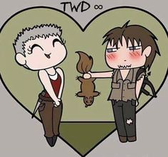 Carol and Daryl ~ Walking Dead Comic Book Covers, Comic Books, Mejores Series Tv, Daryl And Carol, Dead Inside, Fear The Walking Dead, Stuff And Thangs, Daryl Dixon, Great Friends