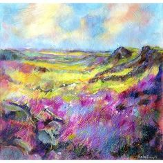Derbyshire Peak Print By Sheila Gill. | Greetings Cards | Prints | Gift Wrap