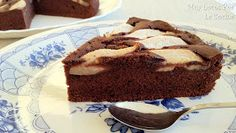 Chocolate and Pear Cake - Chocolate and Pear Cake Chocolate and Pear Cake Chocolate and Pear Cake Welcome to our website, We - Pear And Chocolate Cake, Pear Cake, Quinoa Bowl, Tiramisu, Mousse, Delicious Desserts, Cake Recipes, Sweets, Baking