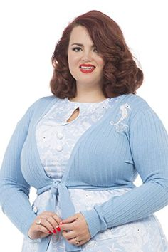Voodoo Vixen Clothing – Women's Sky Blue Annabelle Perfect Summer Coverup  - See more at: http://45.gs/vnru