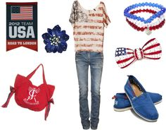 outfit for your 4th of july party? @Rachel Turner, you would be the best party thrower
