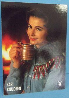#Playboy Miss #February 1962 Kari Knudsen Vintage Trading Card 26 Good #Skate