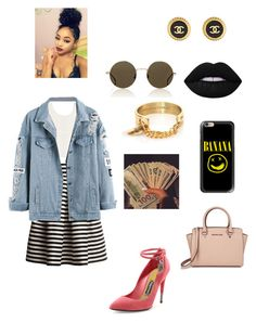 """"" by qveennnnnn on Polyvore featuring Rumour London, Tom Ford, McQ by Alexander McQueen, Michael Kors, Chanel, Illesteva, Taylor and Tessier, Casetify and Lime Crime"